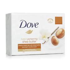 12x Dove Shea Butter - Beauty Moisturizing Cream Soap Bar Hand Wash 135g 4.75oz
