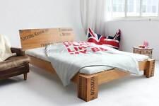 OPUS Bambusbett mit Rückenlehne 160x200cm, 30cm oder 40cm Bett Höhe, NEU!