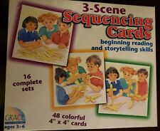 3-scene Sequencing Cards Vintage 1998 48p Ages 3-6