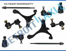 Brand New 10pc Complete Front Suspension Kit for Acura EL and Honda Civic