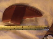 leather knife sheath fixed blade 61/2 Inches Long See Pictures For Detais