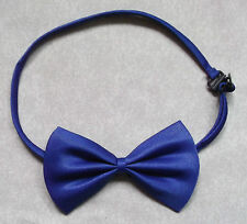 BOYS ROYAL BLUE DICKIE BOW TIE BOWTIE ADJUSTABLE NECK SIZE NEW ONE SIZE CHILDS