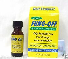 No Lift Nails Liquid FUNG OFF Nail Fungus Treatment .5oz/15mL