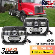 LED Headlights For International Harvester 5600i 9400i 9900I 4700 4800 7300 8200