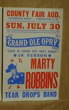 Marty Robbins Coutry Music posters