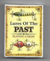 LURES OF THE PAST PLAYING CARDS, FISHING LURES FROM 1890'S TO 1940