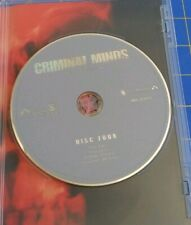 Criminal Minds: Season 3 DVD Disc 4 Only! No Case! Replacement