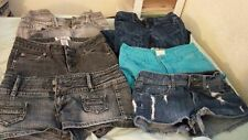Scene hipster Junior Skinny Sexy Shorts Punk Emo Jean Lot SIZE 0-3 pastel goth