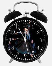 "Ballerina Ballet Dancer Alarm Desk Clock 3.75"" Room Office Decor W20 Nice Gift"