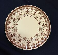 "Spode Fleur de Lis Brown 6.5"" plate - sold individually"