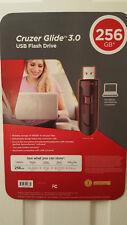 Western Digital Original SanDisk CZ600 Cruzer Glide 256GB USB 3.0 Flash Drive