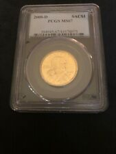 2008-D Sacagawea Dollar PCGS MS-67 Uncirculated Proof! Free Shipping!