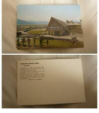 Old New Zealand Postcard, Fiordland Motor Lodge, Te Anau