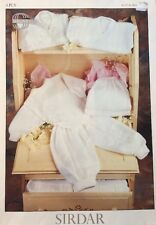 """Sirdar Snuggly 4 Ply Sweaters, Slipover & Pants KNITTING PATTERN 3670 - 16-22"""""""