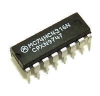 MC74HC4316N Dual Timer IC Motorola