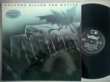 DISCO LP VICTORY - CULTURE KILLED THE NATIVE - 1989 METRONOME 837 781 GER - NM
