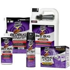 Hot Shot Bed Bug Flea and Dust Mite Killer with Egg Kill Bundle Kit New
