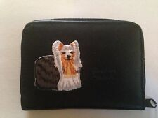Yorkshire Terrier Design Leather Wallet Credit Card Id Holder Yorkie Dog Gifts