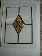 IMITATION LEADLIGHT GLASS PANELS  45CM X 34.5CM