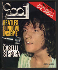 CIAO 2001 20/1970 BRIAN AUGER CASELLI HERBERT PAGANI HALLYDAY BEATLES POSTER