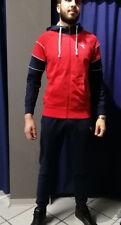Tuta Diadora da Uomo Suit Cuff HD HJ con Zip e cappuccio Mod.172674 45033-rosso carminio L