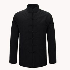 Jacket Chinese Traditional Tang Suit Coat Thick Kung Fu Jacket Tai Chi Uniform