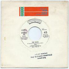 "7"" KISS The oath/JULIE (Casablanca 82 ITALY) promo juke-box Sanremo sticker VG+"