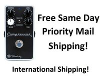 New Keeley Compressor Plus Guitar Effects Pedal! +