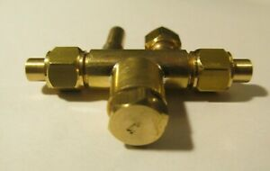 """Live Steam No. 4 Horizontal Water Injector - Model Locomotives 3/16"""" Tube - NEW"""