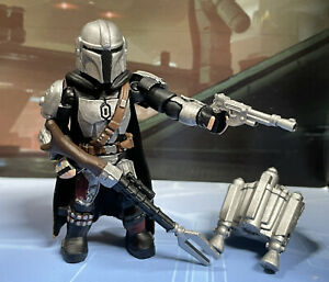 Custom Cast And Painted Mando figure Compatible with SW Mega Construx