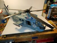 True Heroes Sentinel 1 U-53 Helicopter CH-53 Military Toy Tested and Working