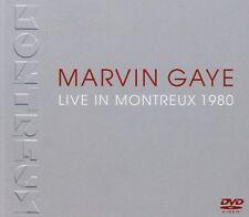 Marvin Gaye - Live in Montreux 1980 (DVD, SEALED, 2016) Motown R&B Singer