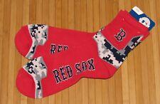 Boston Red Sox FBF Sportswear Crew Socks MLB Red Lt Camo Size Large 8-13