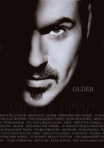 GEORGE MICHAEL OLDER   A3 printed concert poster Amazing