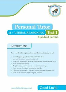 10x  VERBAL REASONING 11+ ELEVEN PLUS TEST/EXAM PAPERS. IDEAL CEM / GL / BOND