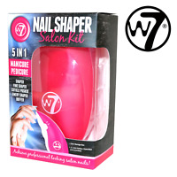 W7 Manicure Pedicure Nail Shaper Salon Kit 5in1