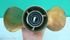 MERCURY Brass Michigan Wheel AJC880 Propeller Boat Prop 13 spline 40-50 hp motor