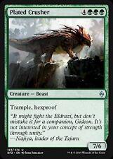 4x 4 x Plated Crusher x 4 Uncommon Battle for Zendikar ~~ MINT ~~ MTG Magic