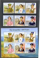 Mint Never Hinged/MNH Military, War Great Britain Regional Stamp Issues