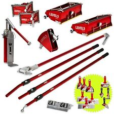 Drywall Taping Amp Finishing Set With Flat Boxes Corner Tools Pump Level5