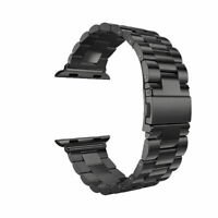 Band Solid Stainless Steel Watchband Strap For Apple Watch Series 6 SE 5 4 3 2 1