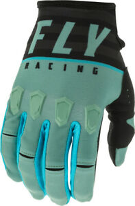 Fly Racing Kinetic K120 Glove (SZ 13, Sage Green/Black)
