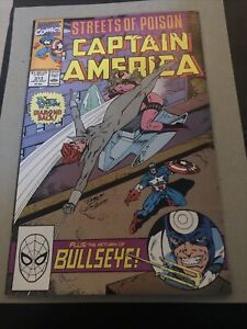Captain America #373   first appearance Leon Hoskins NM- 9.2