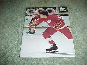 1974 Detroit Red Wings v Buffalo Sabres Hockey Program 11/28