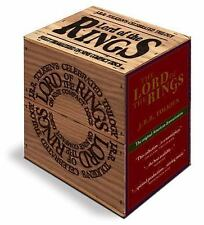 The Lord of the Rings (Wood Box Edition) by J. R. R. Tolkien (2012, CD,...