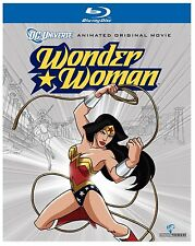 WONDER WOMAN (DC Universe Animated Movie -  Blu Ray - Sealed Region free for UK