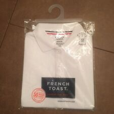 2 Pack French Toast Girls White Polo Shirt Uniform Schoolwear Size 4/5