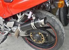 CBR400RR Gull Arm NC29 SP Engineering Satin Black Stubby Moto GP Race Exhaust