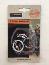 Highlander SURVIVAL WIRE SAW For camping, outdoor, military use.