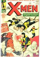 Xmen 1 Custom Made Cover with 1970's Reprint Cyclops Beast Professor X REPRINT